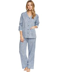 YAWN - Smooth Cotton Sateen Pj Set - Lyst