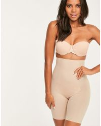 Spanx - Thinstincts High-waisted Mid Thigh Short - Lyst