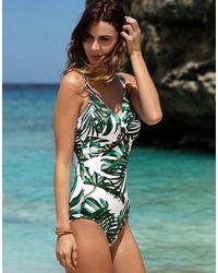Fantasie Palm Valley Underwired Swimsuit - Green