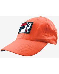Fila Grid Tech Nylon Hat - Orange