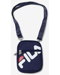 Fila Camera Bag - Blue