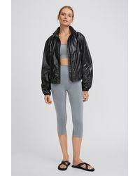 Filippa K Gloss Windbreaker Jacket - Black