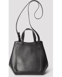 2e6eae12 Atelier Park Color Block Leather Bag New Black in Black - Lyst