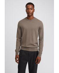 Filippa K Cotton Merino Sweater - Brown