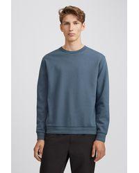 Filippa K Isaac Sweatshirt - Blue