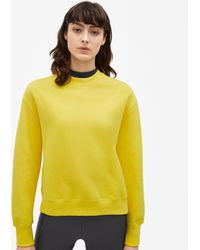 Filippa K - Classic Brushed Sweatshirt Marigold - Lyst