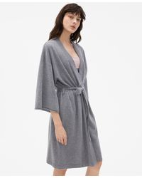 Filippa K Cashmere Kimono - Grey
