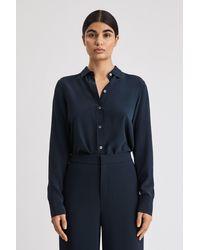 Filippa K - Classic Silk Shirt - Lyst