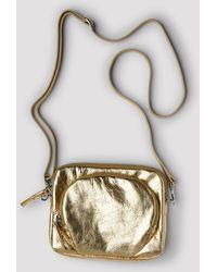 Filippa K Mini Leather Bag - Metallic
