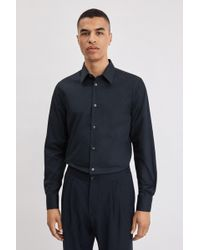 Filippa K James Stretch Shirt - Blue