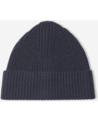 Filippa K - Soft Wool Beanie Dark Navy - Lyst