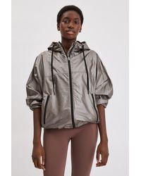 Filippa K Lightweight Shimmer Jacket - Brown
