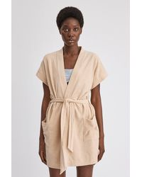 Filippa K Terry Jersey Kimono - Natural