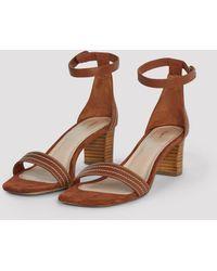 Filippa K Belinda Mid Heel Sandal - Brown