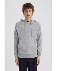 Filippa K Arthur Knitted Hoodie - Grey