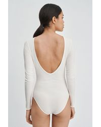 Filippa K Deep Back Body - Gray