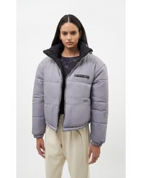 Filling Pieces Female Reversible Puffer Jacket Black / Grey