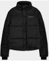 Filling Pieces Puffer Jacket Black