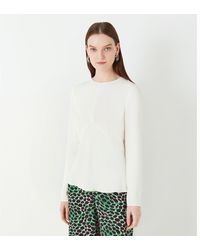 Finery London Abbot Long Sleeve Top - White