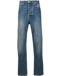 Lanvin 5 Pockets Denim Trousers - Blue