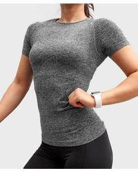 FITGIRL UNIVERSETM Raglan Seamless Shirt - Grey