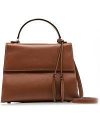 Hunting Season Viola Leather Bag - Brown