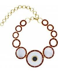 Monica Sordo Brujo Orbit Necklace - Multicolor