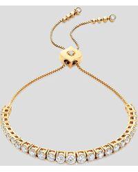 Sara Weinstock 18k Yellow Gold Isadora Eternity Diamond Bracelet - Metallic
