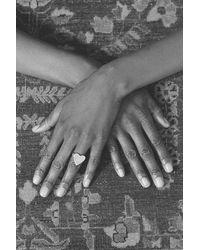 Sophie Buhai Silver Heart Ring - Metallic