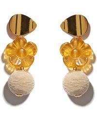 Lizzie Fortunato - Goldenrod Column Earrings - Lyst