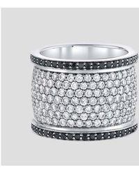 Emily P. Wheeler Cigar Ring - Metallic