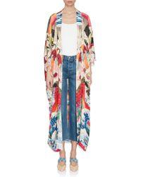 Chufy Tripping Long Kimono - Multicolor