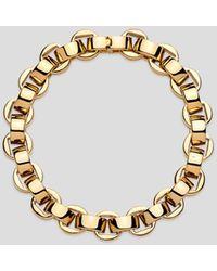 Uncommon Matters Ascender Gold Plated Link Bracelet - Metallic