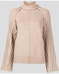 Peter Do Grace Beige Sweater - Natural