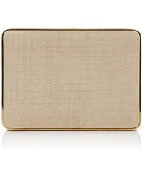 Hunting Season - Linen Square Compact Clutch - Lyst