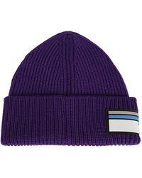 Prada - Wool Hat By - Lyst