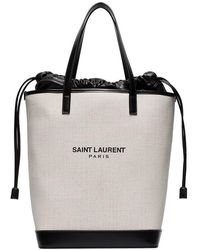 Saint Laurent - Canvas Bag By - Lyst