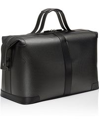 Porsche Design - Carbon Fiber Leather Weekender Bag By - Lyst