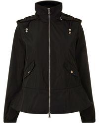 Emporio Armani - Short Hooded Jacket - Lyst