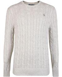 Polo Ralph Lauren - Cable Knit Jumper - Lyst