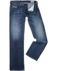 DIESEL Zatiny 8xr Bootcut Jeans - Blue
