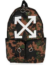 Off-White c/o Virgil Abloh Camouflage Backpack - Multicolour