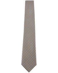 Canali - Contrasted Spotted Tie - Lyst