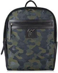 Giuseppe Zanotti - Camouflage Backpack - Lyst