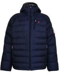 Polo Ralph Lauren Silver Collection Glacier Heated Down Jacket - Blue