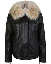 2a900a6144bd Belstaff - Ocelot Hand Waxed Leather Jacket - Lyst