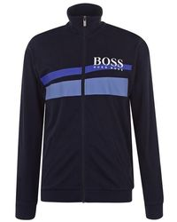 BOSS by Hugo Boss Hugo Boss Tracksuit Top - Blue