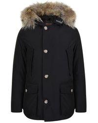 Woolrich Arctic Anorak Coat - Multicolour