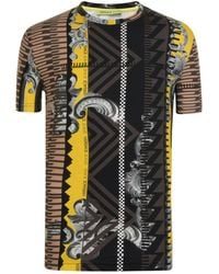 Versace Jeans - Baroque T Shirt - Lyst