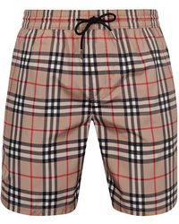 Burberry Vintage Check Swim Shorts - Multicolour